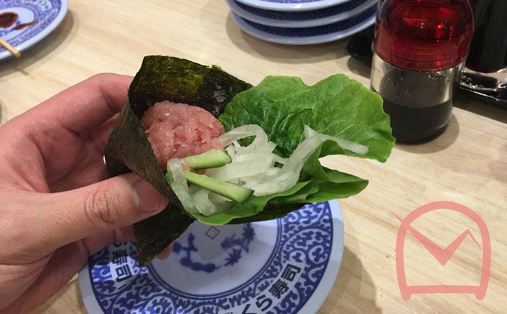 シャリ・野菜|海苔巻き