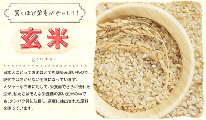 玄米の成分