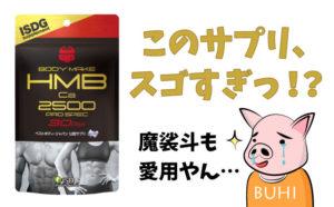 魔裟斗も愛用のhmbca2500プロスペックの効果・口コミをすべて解説